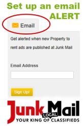 Junk Mail Email Alert