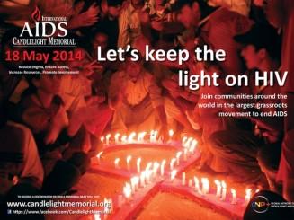 International AIDS Candlelight Memorial 2014