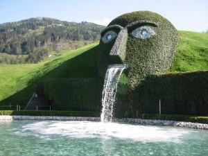 Swarovski-Fountain