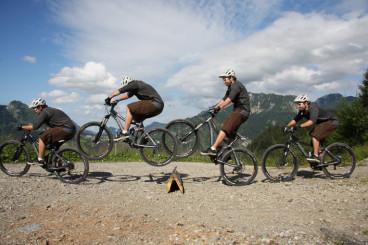 Bunny-hop-on-a-mountain-bike