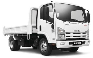 Isuzu-NPR-Tipper-Truck