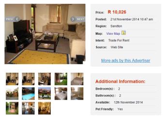 furnished-executive-flat-to-rent-Johannesburg