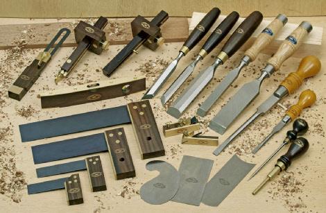 Ручной столярный инструмент маркетри