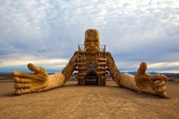 AfrikaBurn-Statue