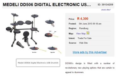 Medeli-DD506-Digital-Electronic-Drum-Kit