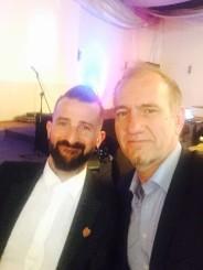 Felix Erken and John Vlismas
