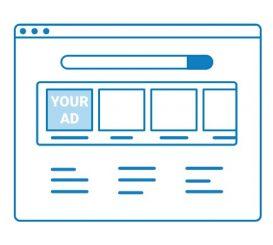 Homepage ad
