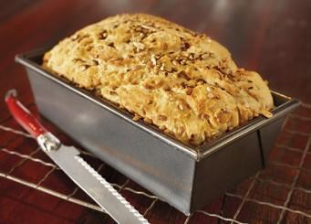 Soy-Barley-Linseed-Bread
