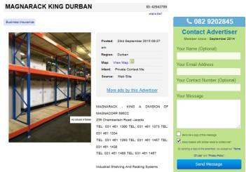 MagnaRack-King-Durban