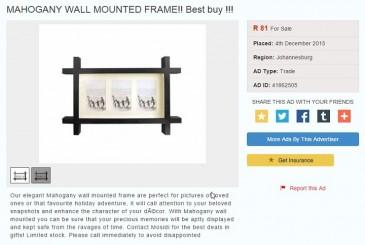 mahogany-wall-frames