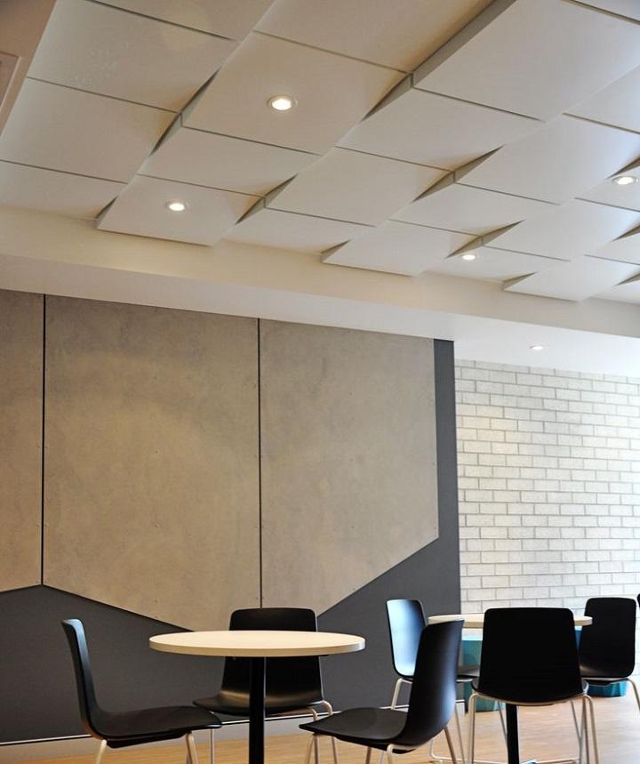 modern ceiling design in an office   Junk Mail Blog