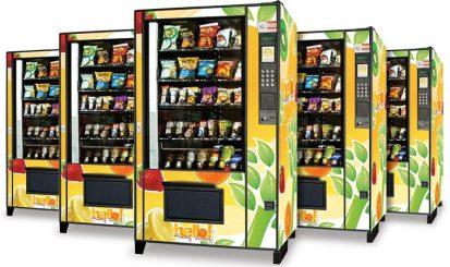 healthy foods vending machine