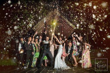 professional wedding photograph