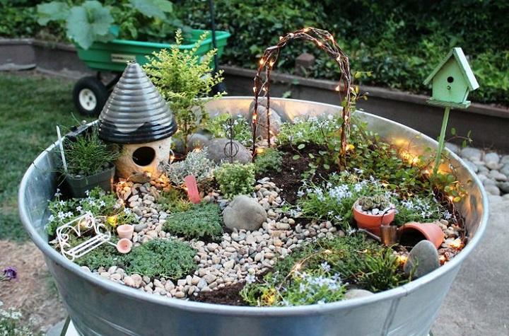 Beautiful Fairytale Small Garden Ideas For Spring