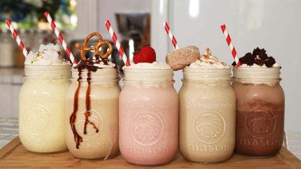 delicious milkshakes