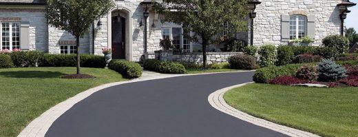 tar paving driveway