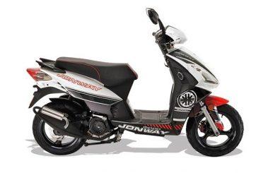 galactica jonway scooter
