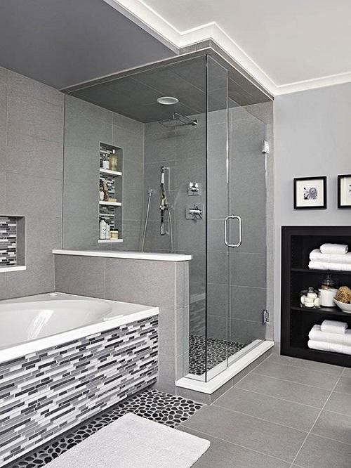 Creative Bathroom Tile Design Idea Junk Mail Blog