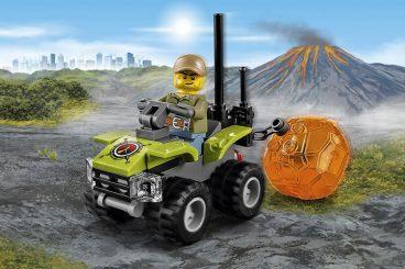 volcano explorers lego