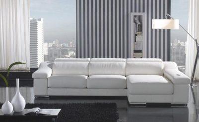 gorgeous white couches