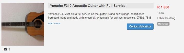 the yamaha f310 acoustic guitar | Junk Mail Blog