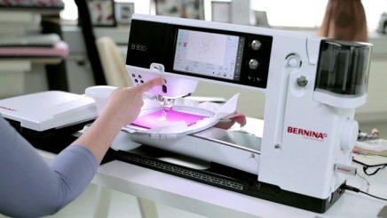 bernina embroidery machine