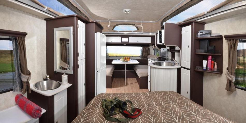 Jurgens Fleetline Caravan Interior | Junk Mail