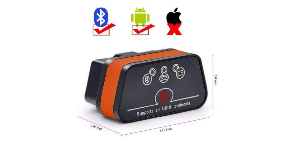 Electromart Vgate ICar2 OBD2 Bluetooth Auto Diagnostic Scanner | Junk Mail
