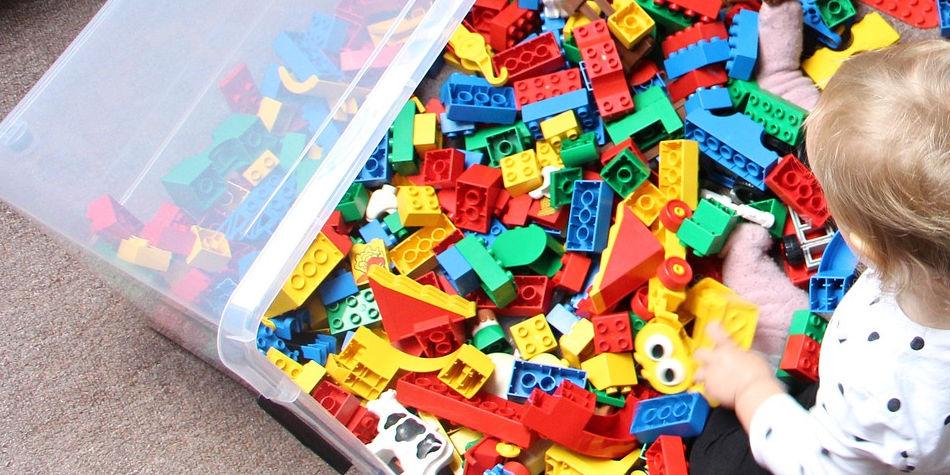 Toy Bins & Sensory Bins | Junk Mail