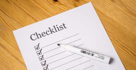 Get A New Year Checklist | Junk Mail