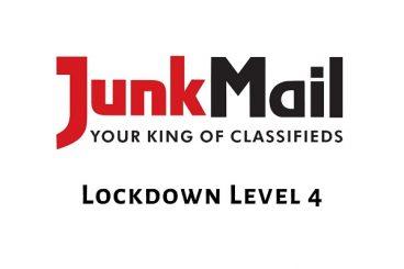 Lockdown Level 4 | Junk Mail